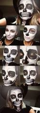 Halloween Skull Face Makeup by Best 25 Skeleton Makeup Ideas On Pinterest Pretty Skeleton