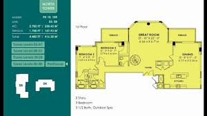 Residences Evelyn Floor Plan by Vizcayne Floor Plans North Tower Hd Youtube