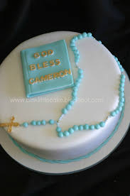 First Communion Cake Decorations Pink Little Cake First Communion Cake