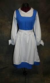Belle Halloween Costume Blue Dress Hipster Cinderella Fun Dress Hipster