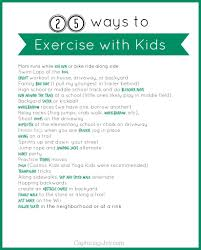 25 ideas to exercise with