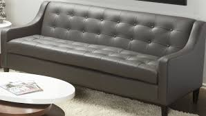 Genuine Leather Furniture Manufacturers Lind Furniture Cameo Leather Sofa U0026 Reviews Wayfair