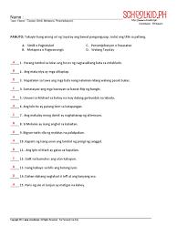 worksheet 2 answer