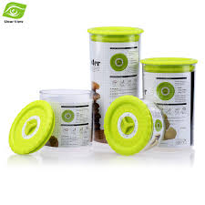 plastic kitchen canisters shop 4pcs set kitchen canisters sealed plastic food