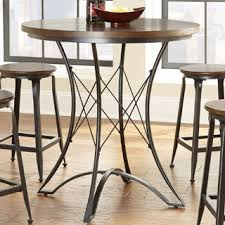 metal bar height table greyson living counter height pub table free shipping today