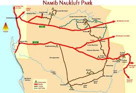 africa map kalahari desert tourist maps of namibia
