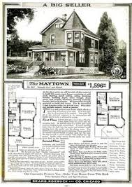 Historical House Plans 1908 Sears Roebuck And Co Kit House No 52 Historic Homes
