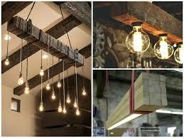 wood beam light fixture wood beam chandelier 5 best ideas for wood beam lighting how to make