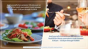 ik cuisine promotion flow hotel colombo sri lanka events and offers