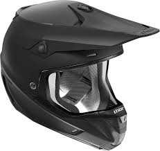 motocross bike helmets mens thor verge flat black motorcycle mx dirtbike dirt bike