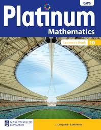 platinum mathematics grade 10 12 ebooks