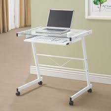 White Gloss Office Furniture by A11 Modern Office Desk White High Gloss Desk White Glass Top With