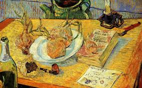 vincent van gogh wallpaper still life with drawing board pipe
