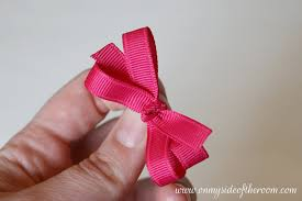 how to make a hair bow easy easy hair bow tutorial on my side of the room