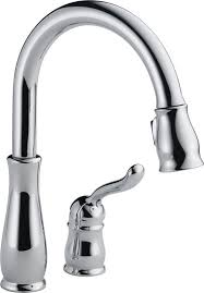 Bathtub Faucet Height Standard Delta Leland Single Handle Pull Down Standard Kitchen Faucet