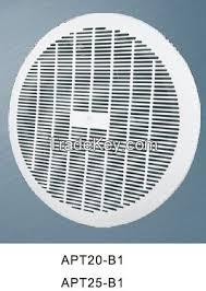 electric fan box type 220v 50hz 60 400 cfm plastic box type ceiling fan duct ceiling fan