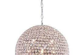Sphere Chandelier With Crystals Chandelier Astonishing Wood And Chandelier Orb Lighting