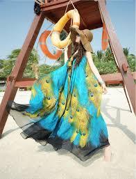 plus size peacock print dress plus dress style