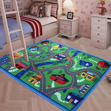yazi play game mat racing track carpet children baby kids interest