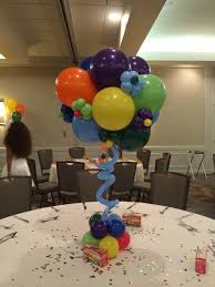balloon centerpiece centerpieces dc md and va s best balloon decor
