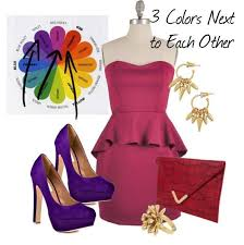 Colors That Match With Purple 21 Best The Color Wheel Of Fashion Forward Images On Pinterest