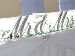 mr and mrs table decoration bridal table decorations perth wish upon a well