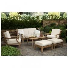 Smith And Hawken Teak Patio Furniture by Patio Furniture Without Cushions Foter
