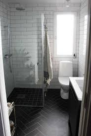 black herringbone floors greg bathroom ideas pinterest bathroom black herringbone floors