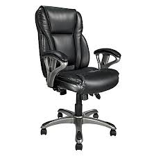 Realspace Office Furniture by Realspace Mfmc400 Bonded Leather Multifunction Managerial Chair