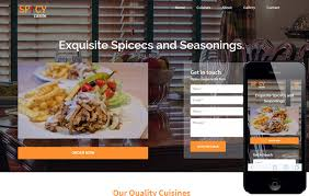 cuisine mobile spicy cuisine a hotel category flat bootstrap responsive web