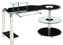 Glass Top Computer Desks For Home Glass Top Computer Desk With Storage China Multifunctional Glass