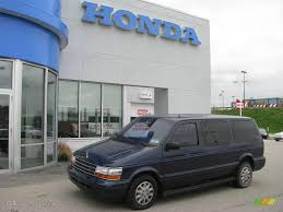 1994 jewel blue pearl metallic plymouth grand voyager se 8713625