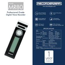 amazon com mr80 mini clip small voice recorder voice activated
