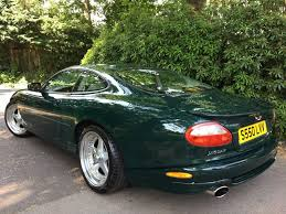 british racing green used british racing green with oatmeal hide jaguar xkr for sale