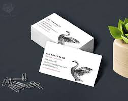 Personalized Business Cards Yoga Business Card Etsy