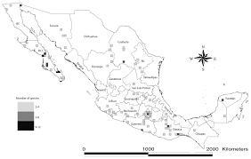 Coyoacan Mexico Map by Toxins Free Full Text Scorpions From Mexico From Species
