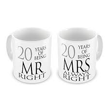 20th wedding anniversary gift 20th wedding anniversary gifts co uk