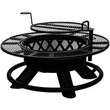 Firepit Grills Bighorn Ranch Pit With Grilling Plate L M Fleet Supply