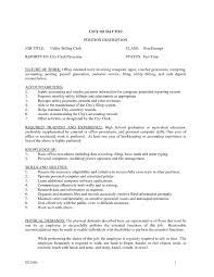 Utility Worker Resume 17 Billing Job Descriptions And Duties Job Resume Samples