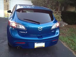 2014 Mazda 3 Antenna Location How To Remove Tail Lights Install Oem Led Tail Lights 2004 To