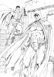 printable 18 batman and superman coloring pages 8595 batman