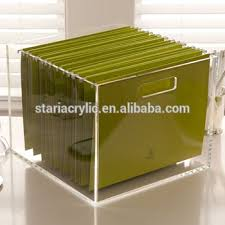 Acrylic Desk Organizers Premium Clear Acrylic Desktop Office Supplies Within