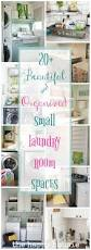 Laundry Room Accessories Storage by 25 Best Small Laundry Space Ideas On Pinterest Small Laundry