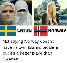Norway Meme - sweden norway not saying norway doesn t have its own islamic