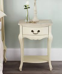 shabby chic side table juliette shabby chic chagne bedside table assembled cream