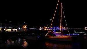 padstow christmas lights switch on countdown harbour cornwall 27th