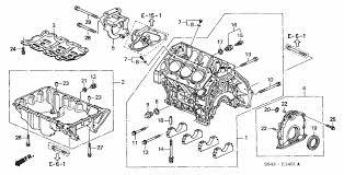 2001 honda accord coupe parts cylinder block pan v6 honda oem parts 1998 honda accord