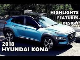 2018 hyundai kona design interior features youtube