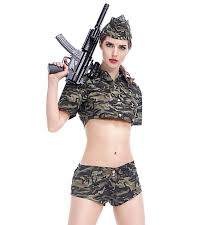 Halloween Army Costumes Cheap Army Green Womens Costume Aliexpress