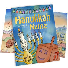 personalized hanukkah story book for